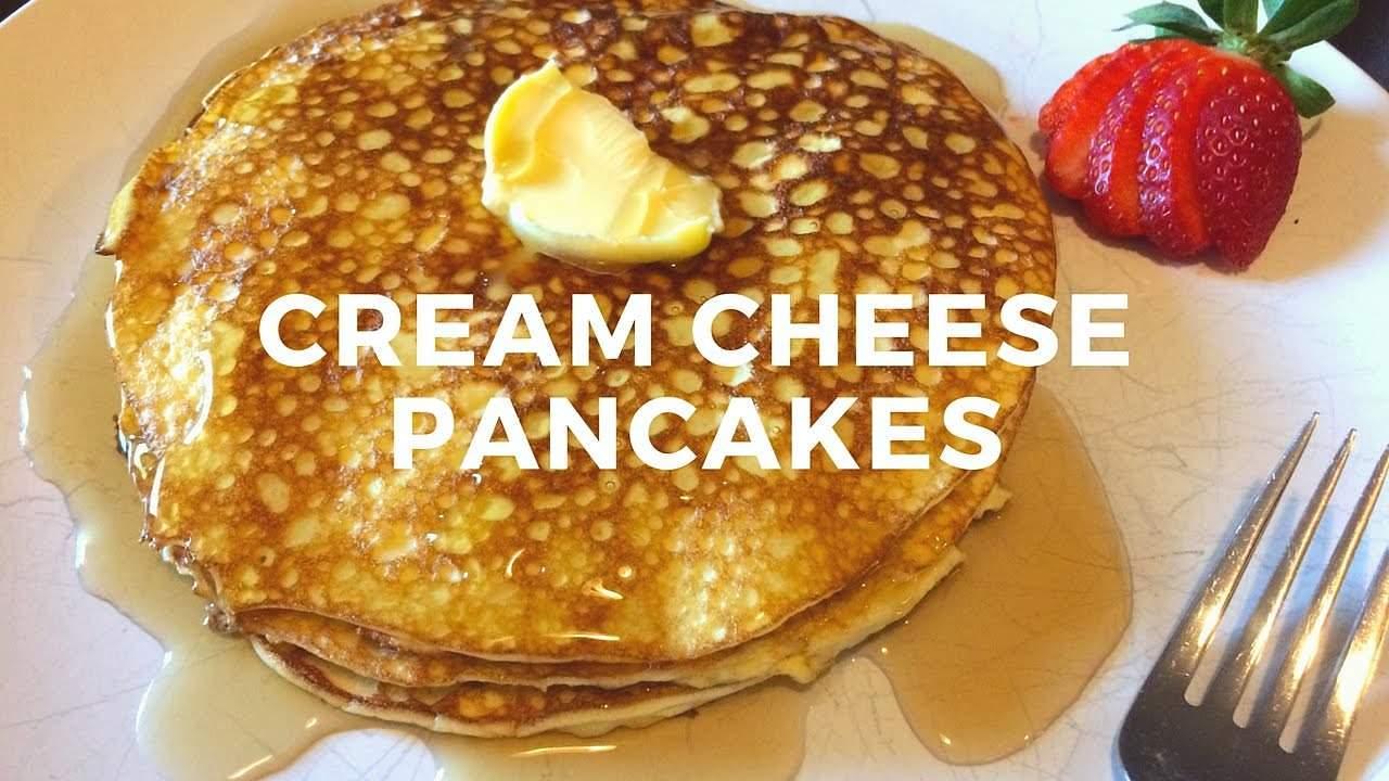 Cream Cheese Pancakes - Keto Karma