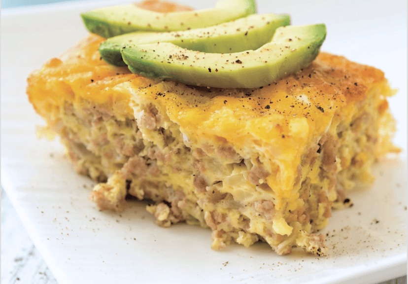 Sausage Egg And Cheese Breakfast Bake