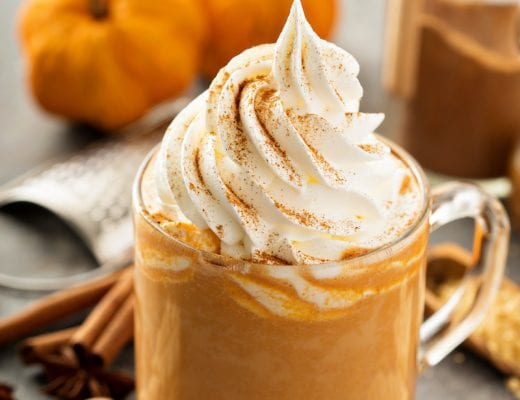 Keto Pumpkin spice latte recipe.