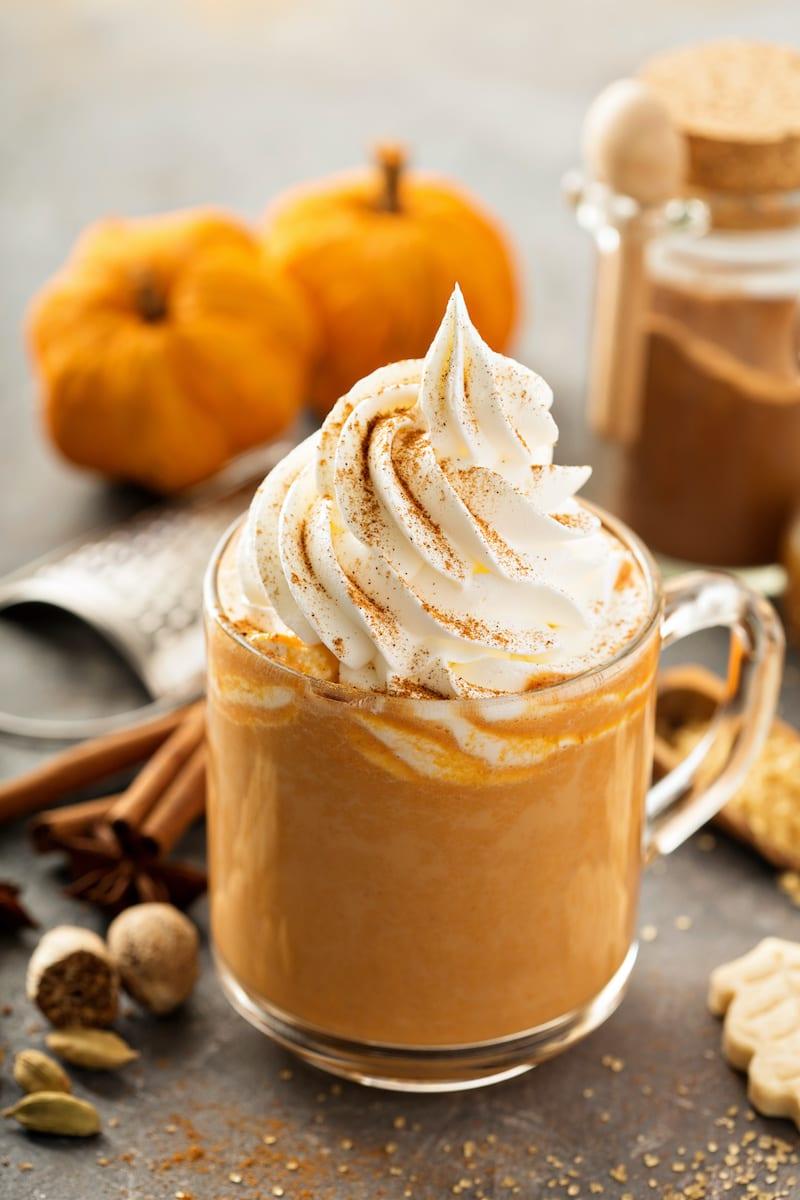 Keto Pumpkin spice latte recipe.