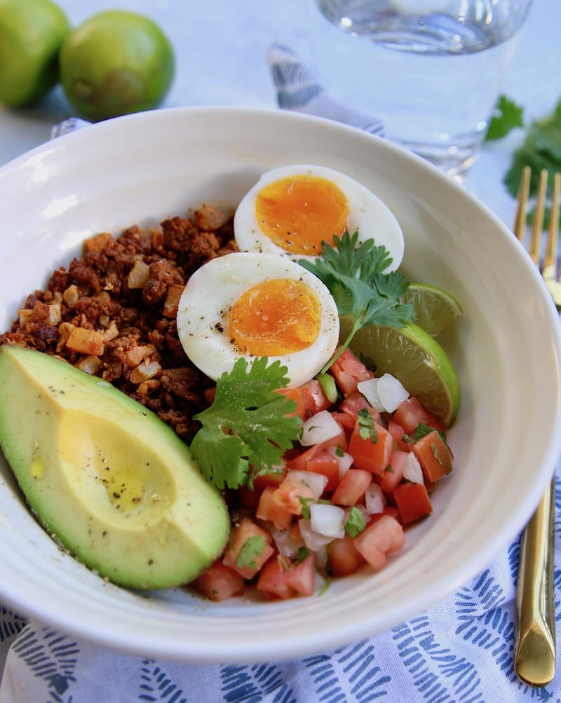If you are in search of a delicious and dairy-free breakfast, look no further than this Chorizo Breakfast Bowl recipe!