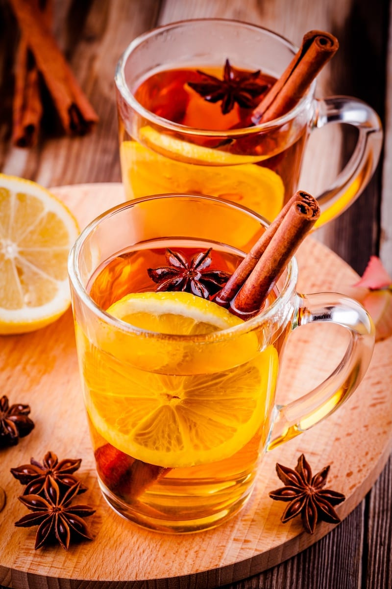 This Keto Hot Toddy recipe is the perfect after-dinner cocktail to enjoy with friends during the holidays, or on a cold winter's night.