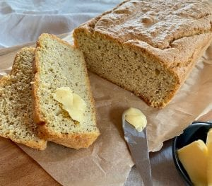 This delicious keto bread recipe is easy to prepare, and uses common keto ingredients.