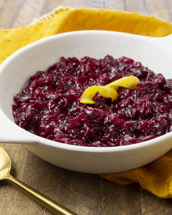 This keto cranberry sauce is a sweet (yet sugar-free) and easy classic holiday side.