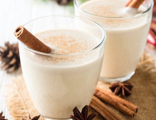 This Keto Eggnog recipe gets rid of calories, carbs, and sugars without giving up any of the rich, creamy flavors in this traditional drink.