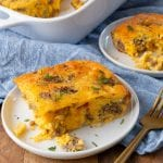 This recipe for sausage, egg, and cheese breakfast bake is delicious and easy to make.