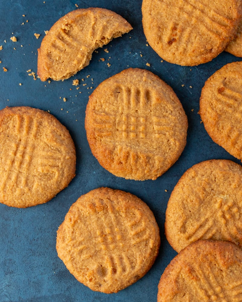 Look no further, you've found the most delicious keto peanut butter cookies recipe!