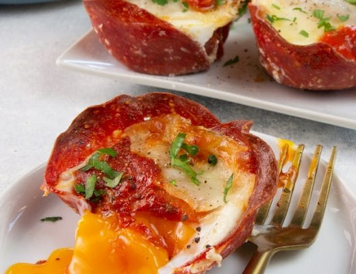 This recipe for low carb pizza egg cups is not only delicious, but it's also quick and super easy to prepare.