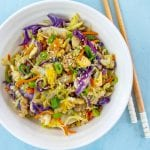 Flavor packed recipe for Keto Egg Roll In A Bowl.