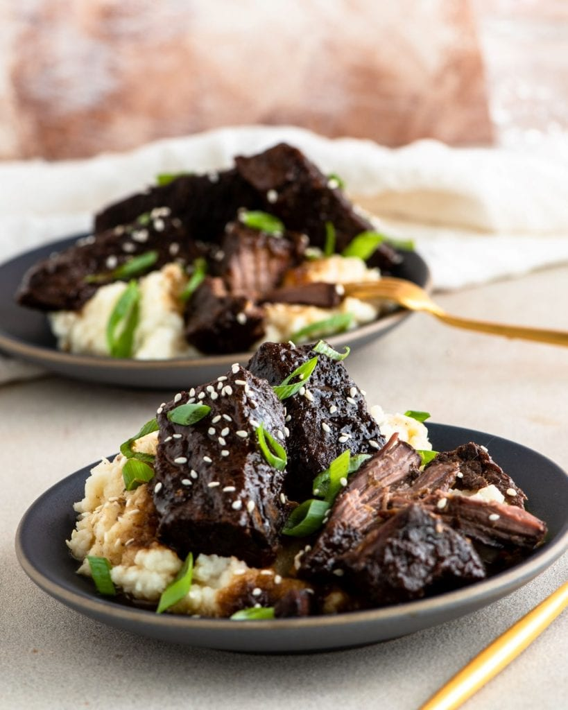 You can make these delicious five-spice short ribs in your crock pot!