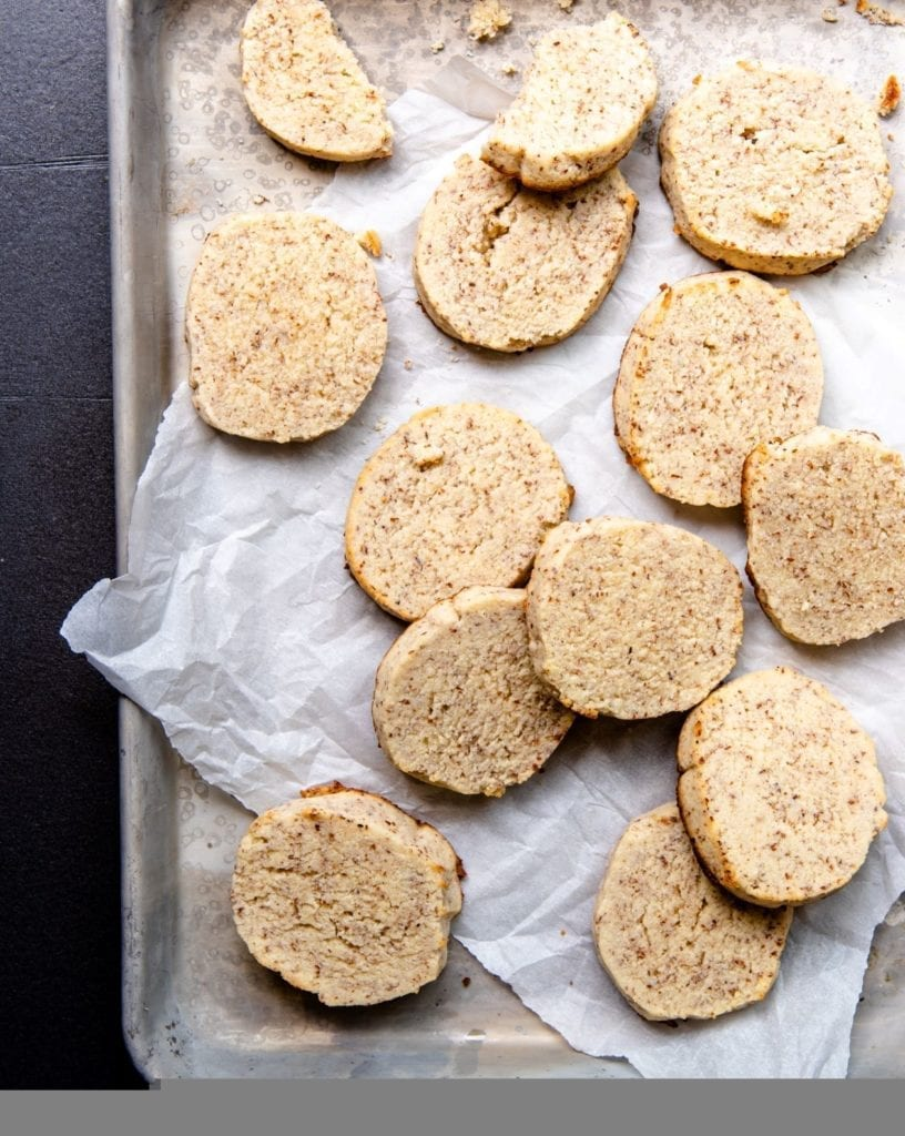 Simple recipe for cream cheese cookies.