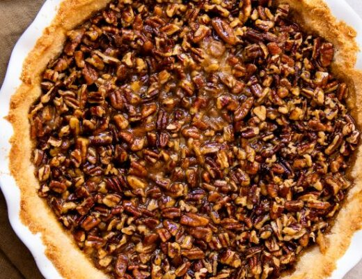 Recipe for low fat pecan pie.