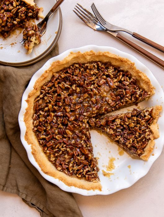 Recipe for sugar free pecan pie.
