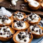 Recipe for sugar free cannoli cookie cups.